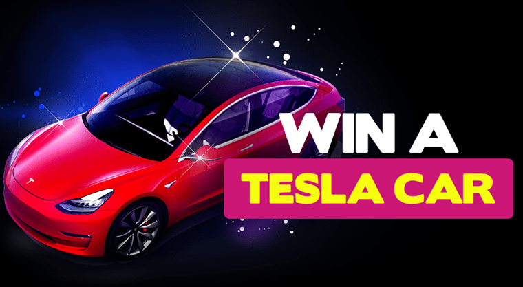 Win a Tesla Model 3 Car at BitStarz Bitcoin Casino this summer