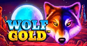 Wolf Gold is a top slots game at gunsbet from platipus