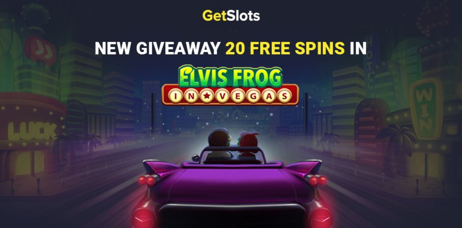 Claim 20 No Deposit Free Spins at GetSlots Today