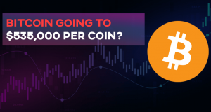 Is Bitcoin going to $535000 per coin?